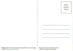 MosCaravaggio Postcard BACK