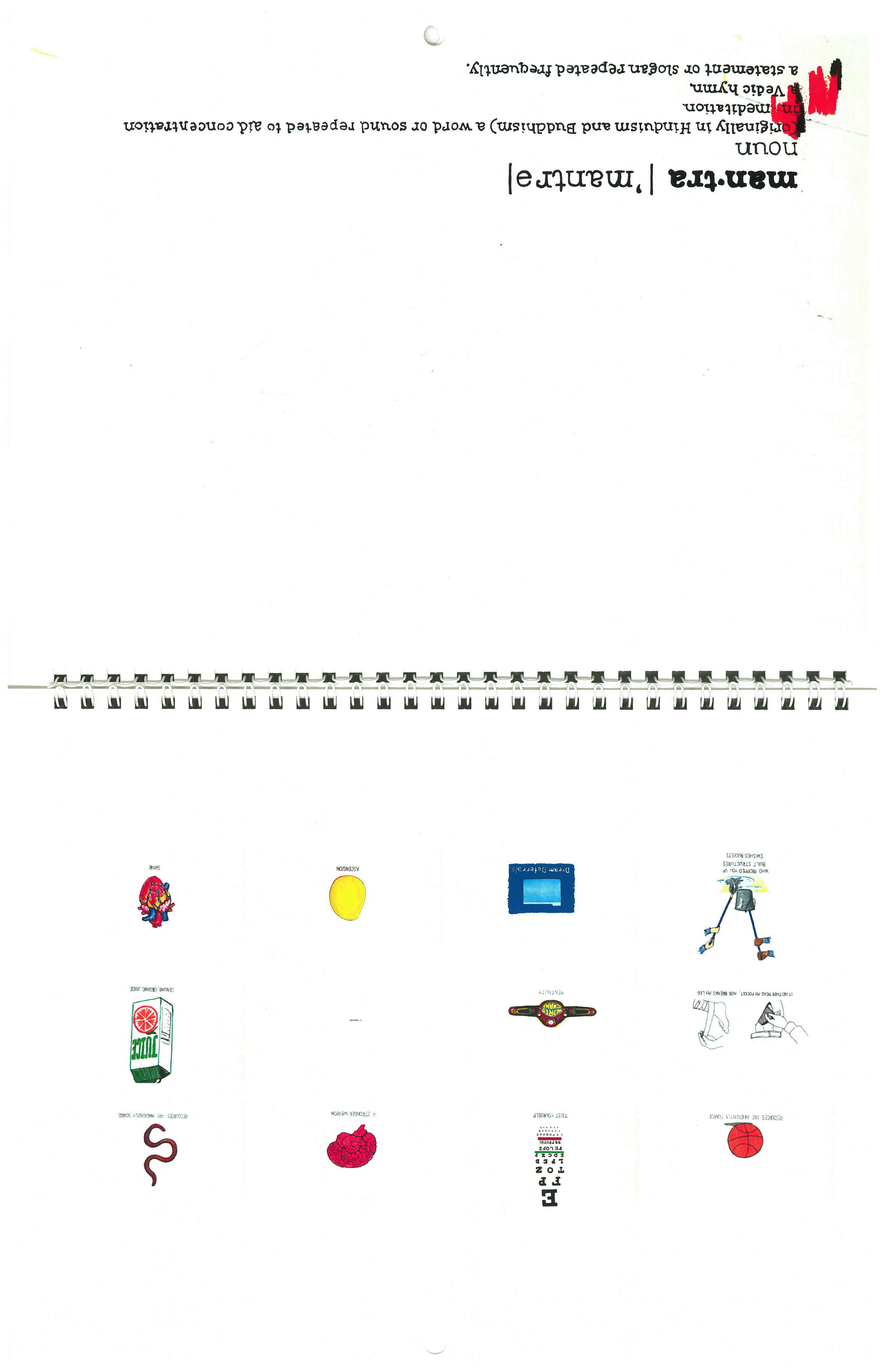 MANTRA Calendar
