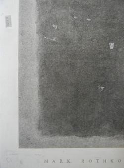Mark Rothko Drawing - detail