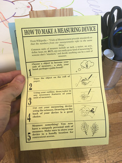 """""""How to make a measuring device"""""""