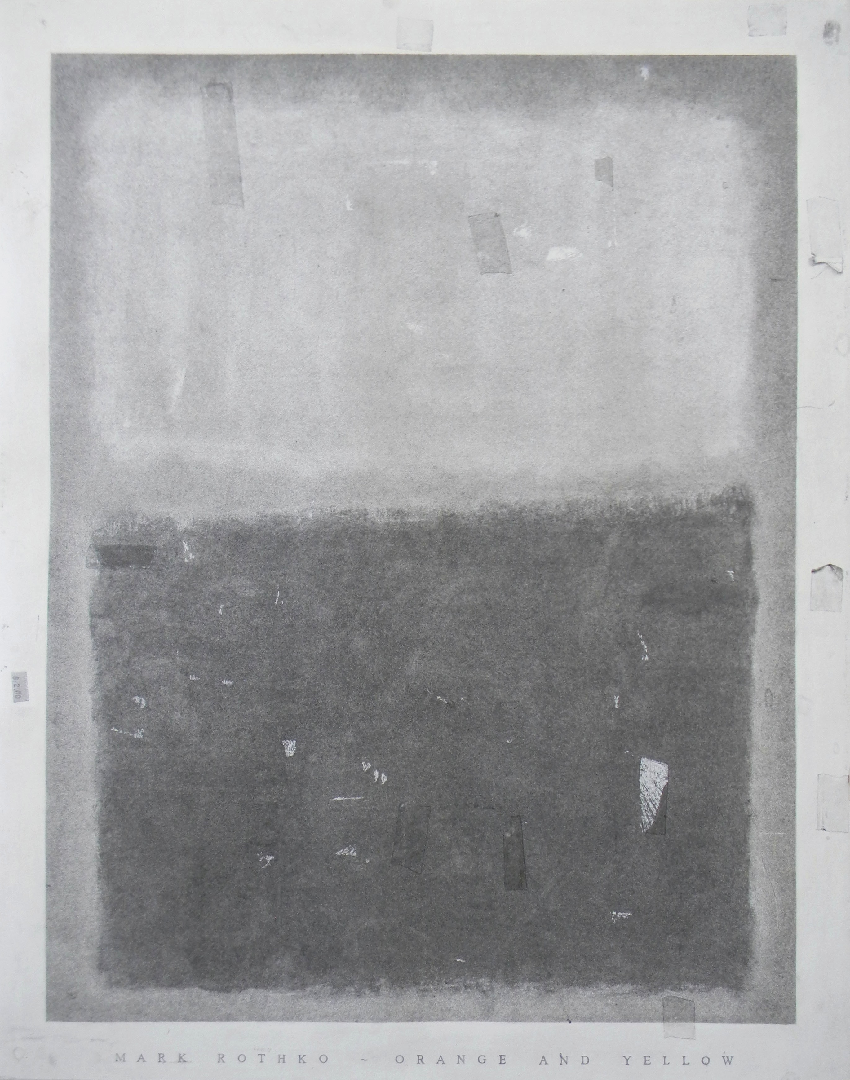 Mark Rothko Drawing