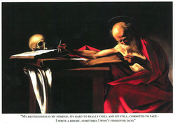 MosCaravaggio Postcard FRONT