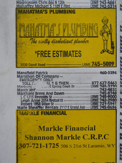 Phone Book Page *DETAIL