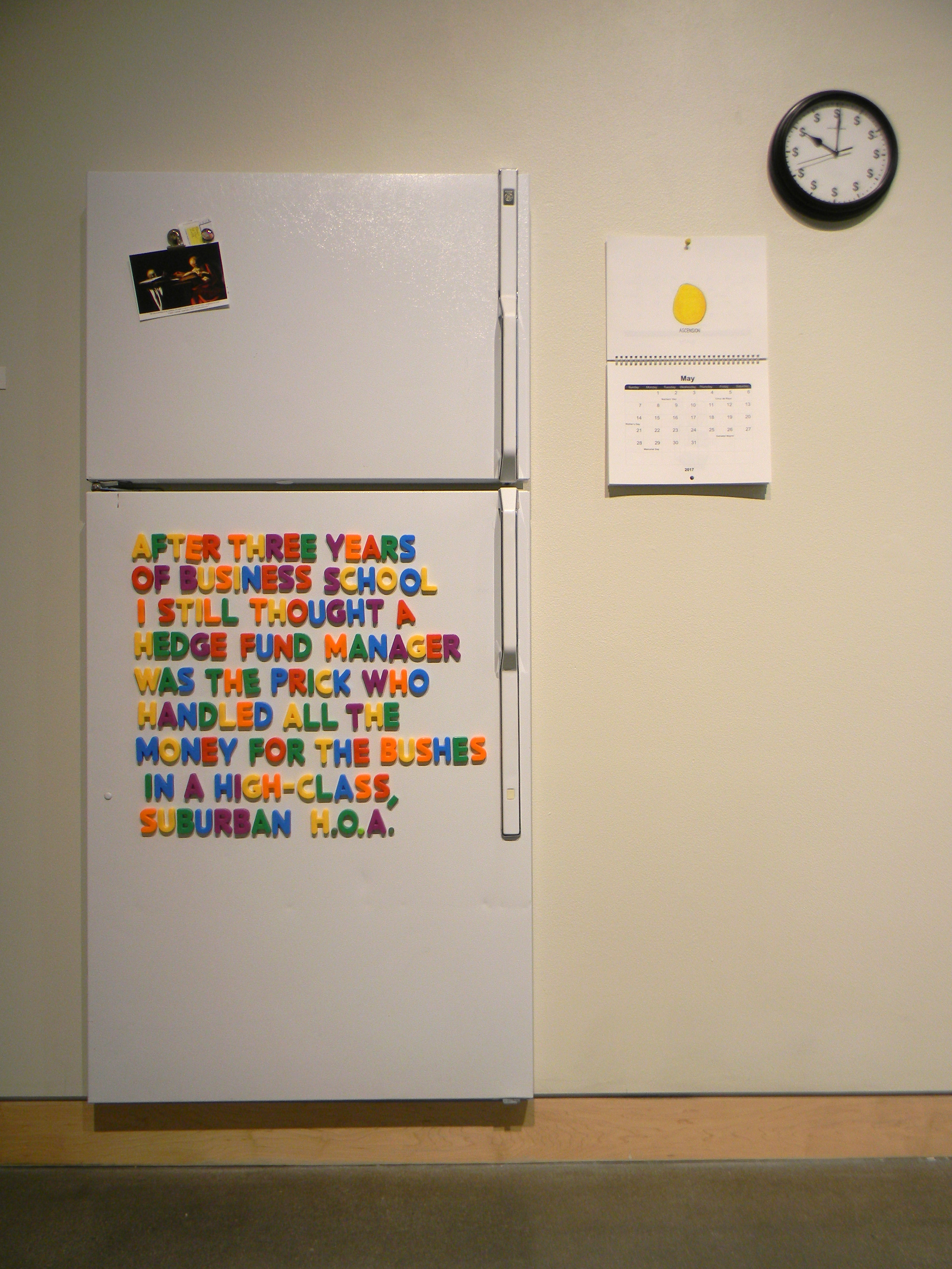 Fridge Notes Installation