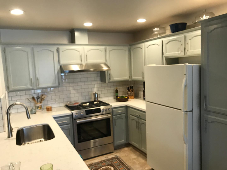 Custon Kitchen Cabinet Paint