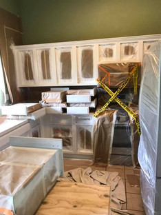 After Picture Of White Kitchen Cabinets
