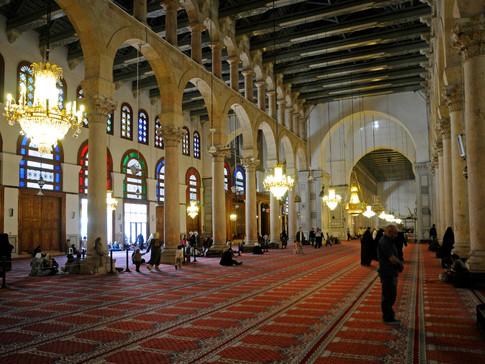 sy112 Omaijaden Moschee innen.jpg