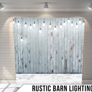 Rustic photo booth rental