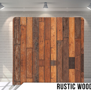Wooden photobooth backdrop