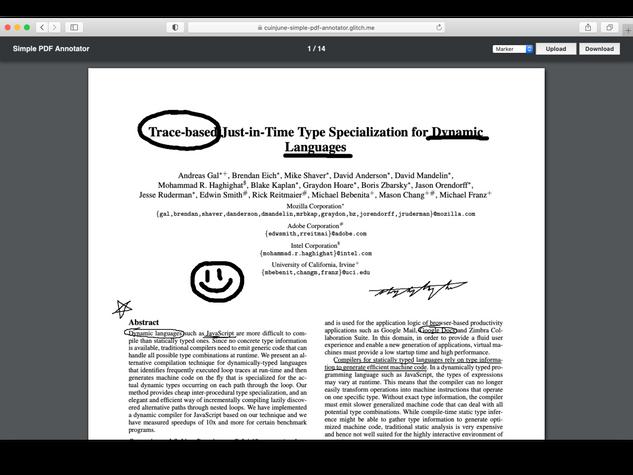 Simple PDF Annotator