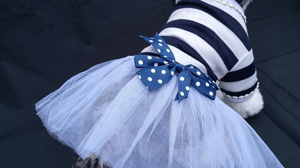 Blue dress size S