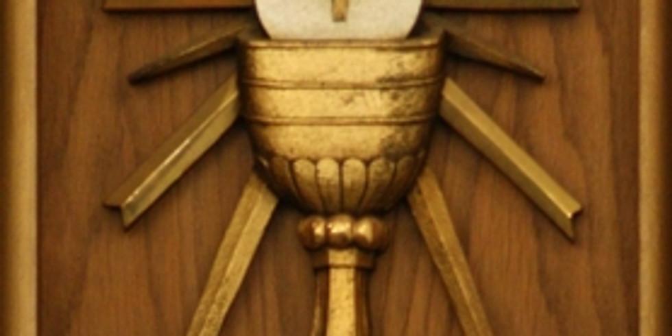 Sunday Mass: Transfiguration Parish every Sunday at 11:30am Marcy avenue