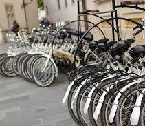 White Bikes sharing