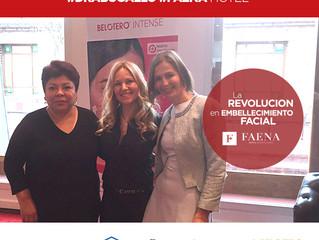 Dra. Bugallo en Faena Hotel - Perfeccionamiento Internacional Merz Aesthetics