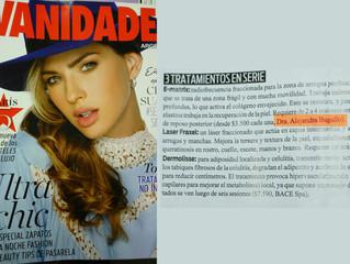 Dra. Bugallo en Revista Vanidades y Revista LUZ