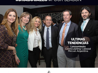 Dra. Bugallo en Four Seasons Hotel Buenos Aires. Evento Coolsculpting Argentina