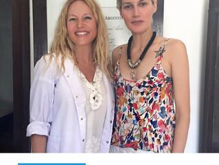 La Dra. Bugallo Junto a la Modelo Laura Figueredo, Tratamientos con Xeomin