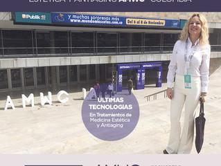Dra. Bugallo en Colombia participando del Congreso Internacional de Medicina Estética y antiaging#