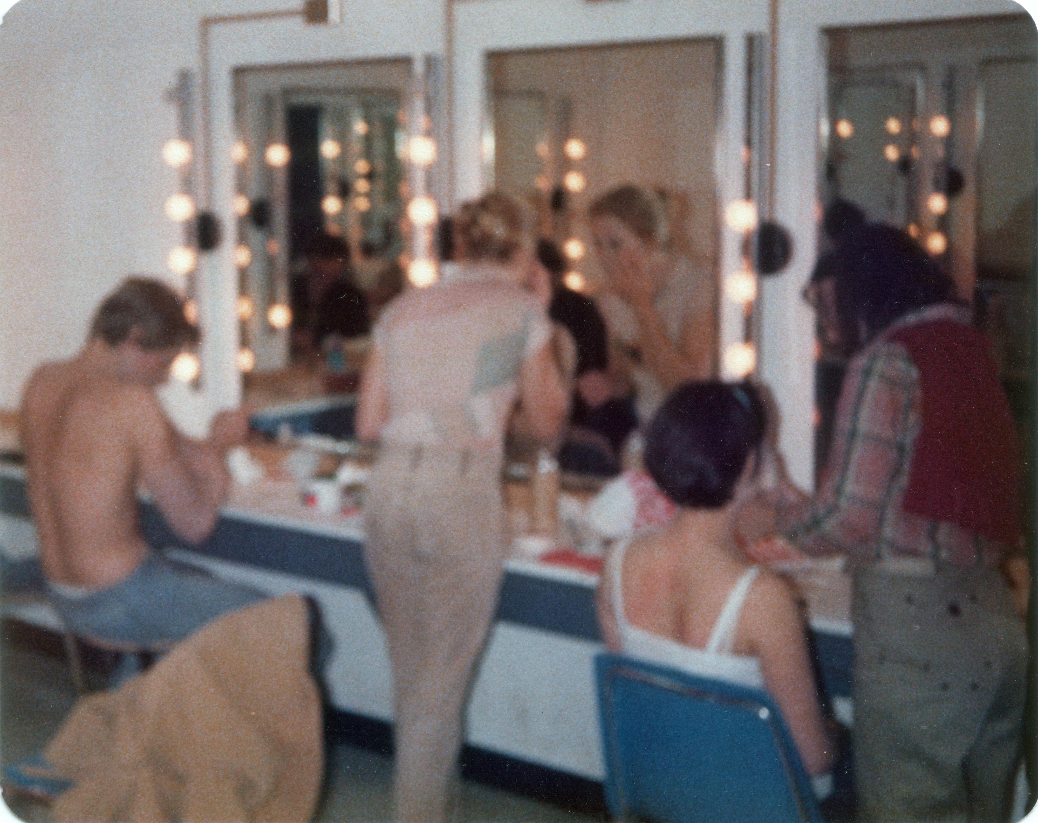 makeup room, frank, dee murphy, nancy st