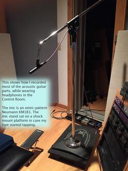 melody recording setup