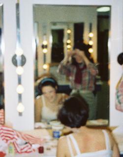 nancy, in the makeup room