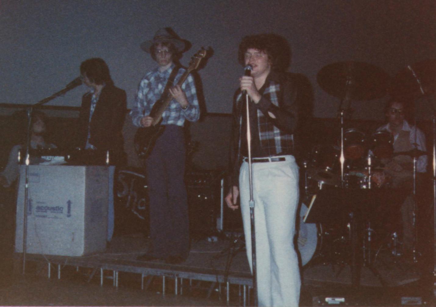 Jim, Frank, Dale, Steve - Feb 1980