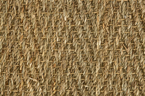 Seagrass Herringbone- Natural Weft