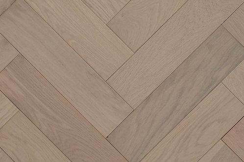 Herringbone Wood Flooring - Scandic White 14232