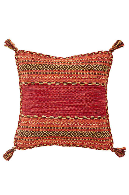 Kelim Red Cushion -Covers Pack of 2
