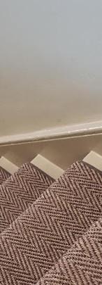 Sisal Stair Runner with 22 mm binding