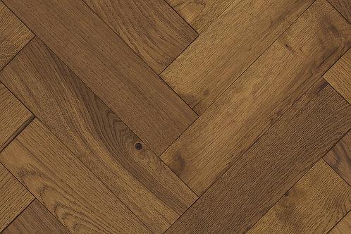 Herringbone Wood Flooring - Smoked 14234