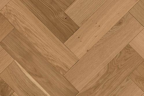 Herringbone Wood Flooring - Oak Rustic 14231