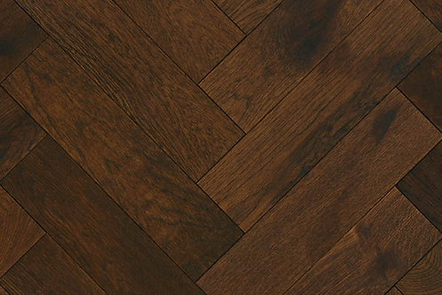 Herringbone Wood Flooring - Old English 14235