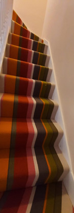 Crucal Trading stripe carpet