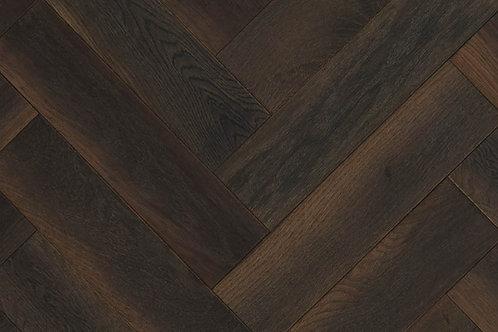 Herringbone Wood Flooring  - Scorched Oak 14237