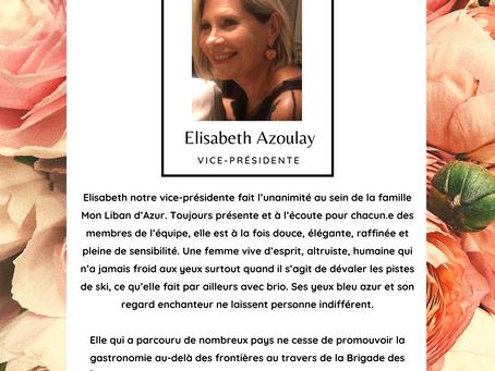 Lumière sur... Elisabeth Azoulay !