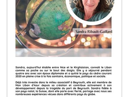 Lumière sur... Sandra Ribault-Gaillard!