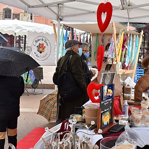 4ème Marché de Tourrette-Levens, spécial Saint-Valentin