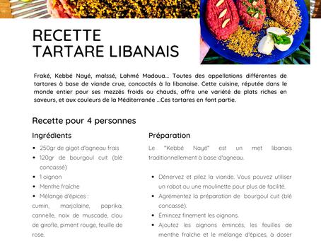 Nos recettes MLA : Kebbé Nayé