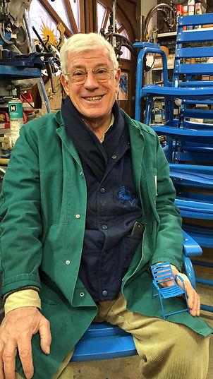 La Chaise Bleue Charles Tordo