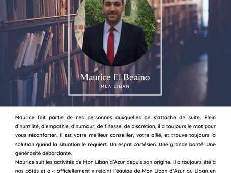 Lumière sur... Maurice El Beaino