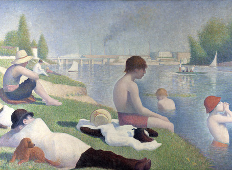 Peintres au fil de l'eau : Georges Seurat