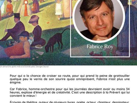 Lumière sur... Fabrice Roy !