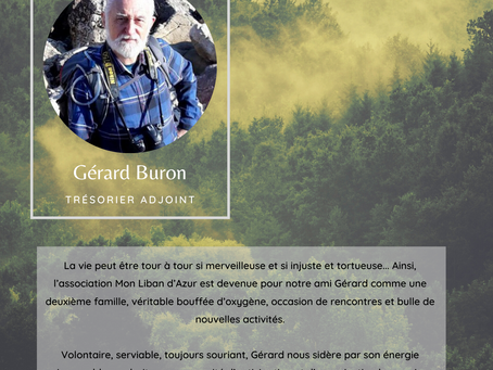 Lumière sur... Gérard Buron