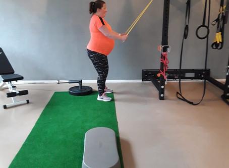 Alma verteld over wat sporten voor haar betekende tijdens haar zwangerschap#Blog21