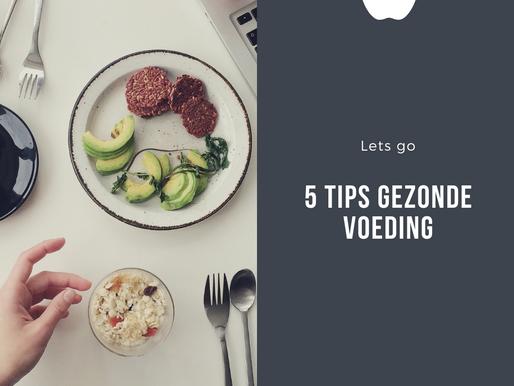 5 Tips: Gezond en voordelig eten