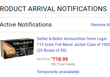 Why OUTRAGEOUS  9mm Prices?