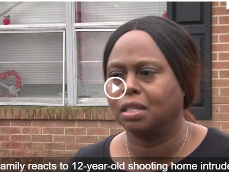 2A Saves Lives 12-Year-Old Shot Home Intruder in Self-Defense