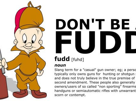 """Don't be a Fudd - Reserve """"YourName""""@2A.email"""