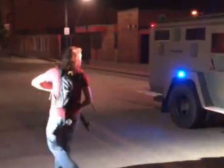 The Dems' New Normal: Wisconsin Armed Rioters Threaten Police and Residents With Rifles